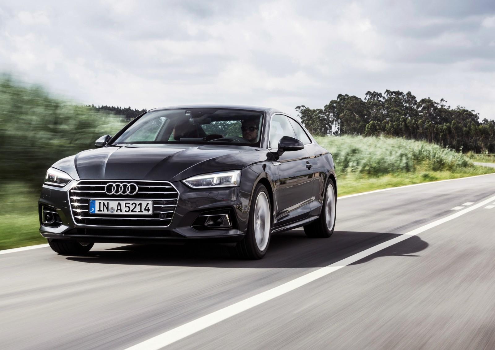 Стали известны рублёвые цены на Ауди A5 Coupe обновленного поколения
