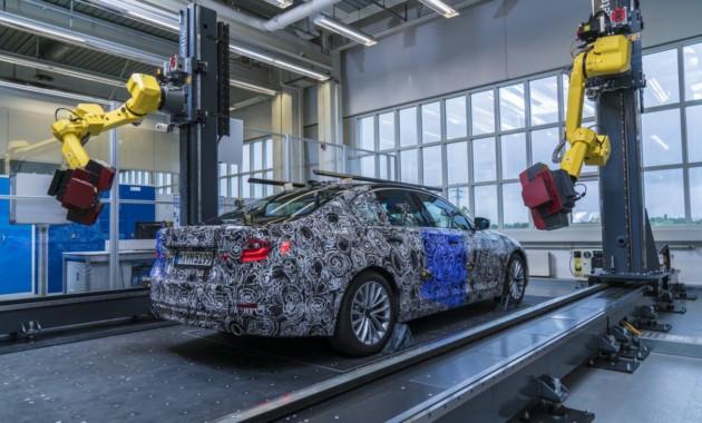 Начало продаж нового БМВ 5-Series запланировано на предстоящий год