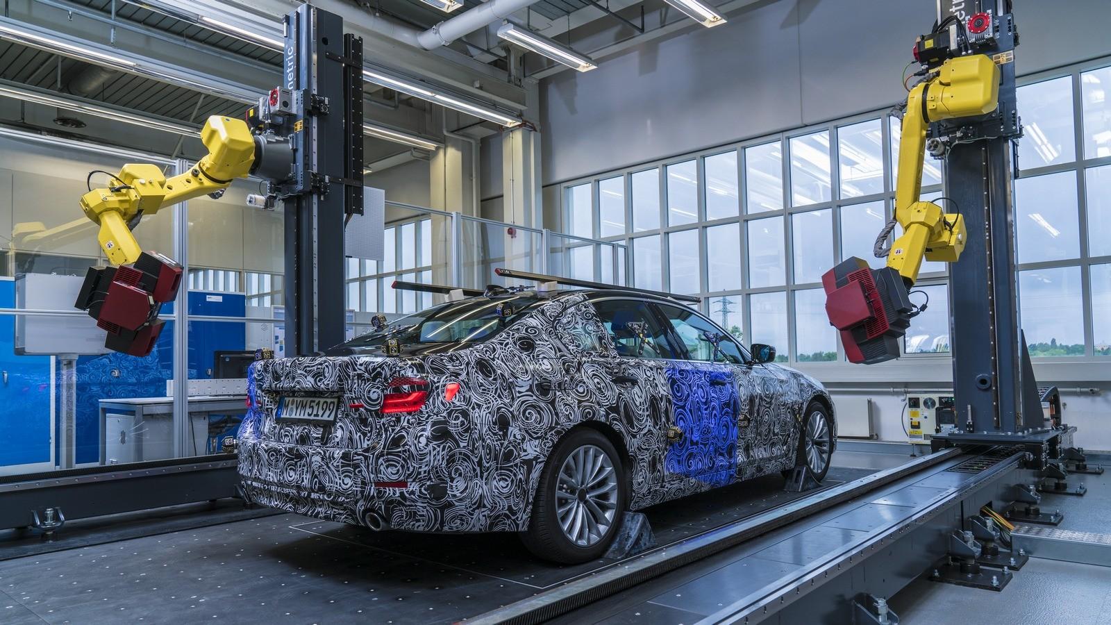 БМВ готовит кпроизводству новый седан 5 Series
