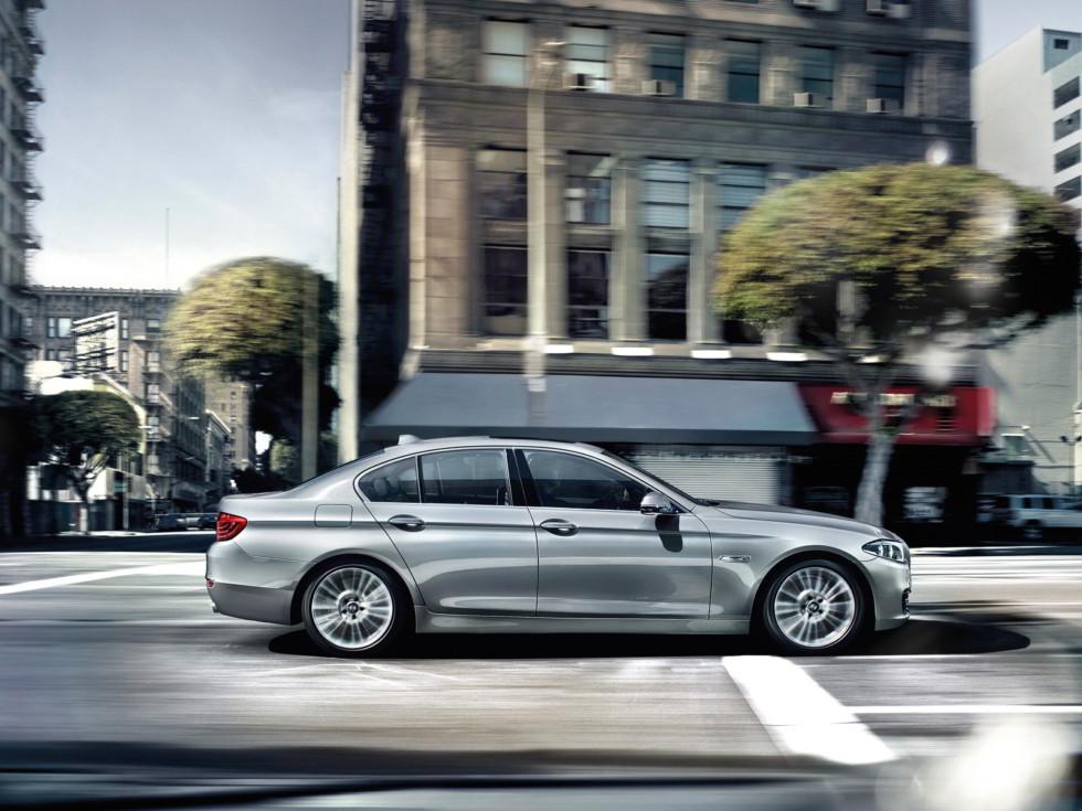 BMW 5 Series текущего поколения