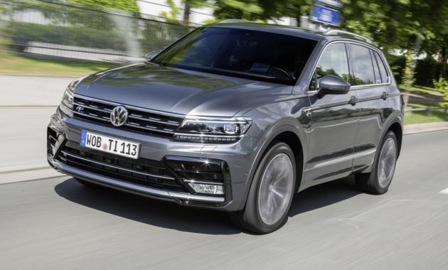 Новый Фольксваген Tiguan стал лидером европейского рынка всегменте SUV