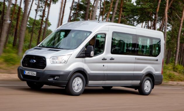 Форд отзывает в РФ 24 автобуса Transit