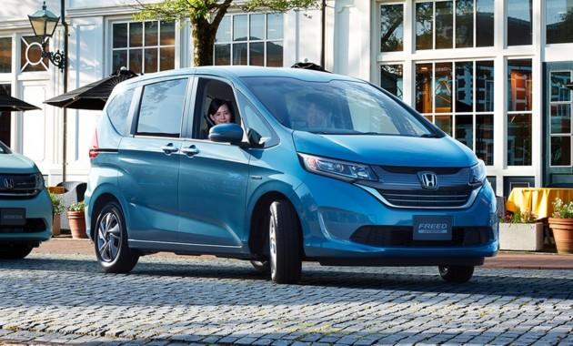 Honda Freed нового поколения стартует в Японии