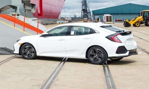 Новый тип хэтча Хонда Civic представят наавтомобильном салоне вПариже