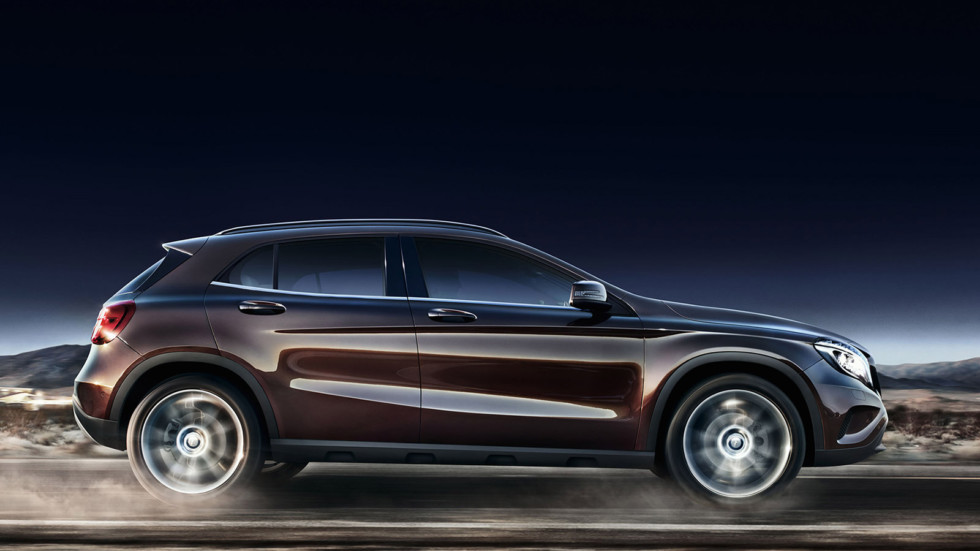На фото: Mercedes Benz GLA