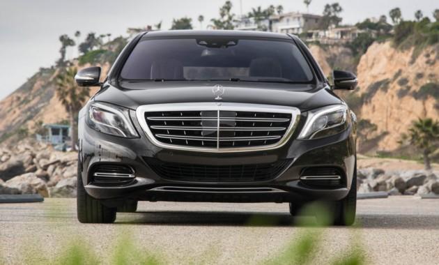 Benz привезет вПариж бронированный Maybach S600 Pullman Guard