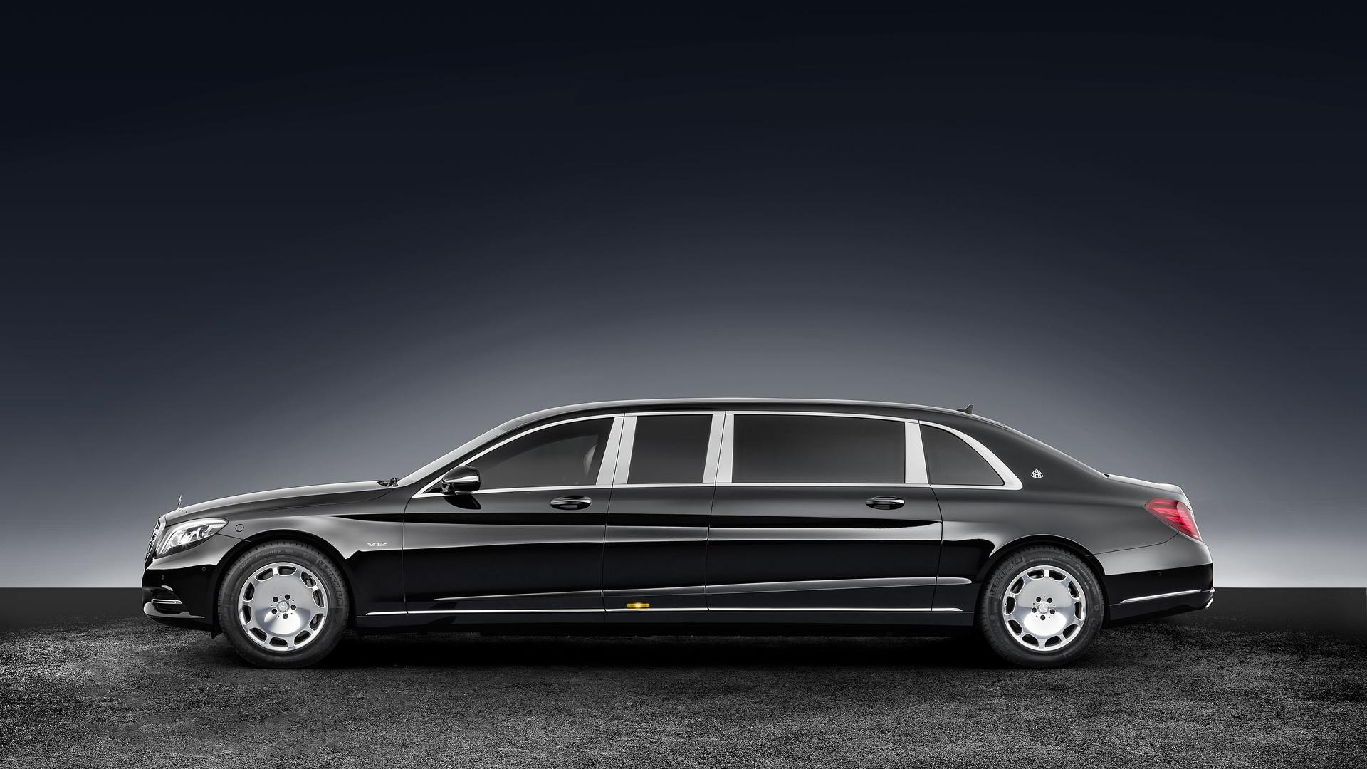 Мечта диктатора: Mercedes-Maybach S600 Pullman Guard
