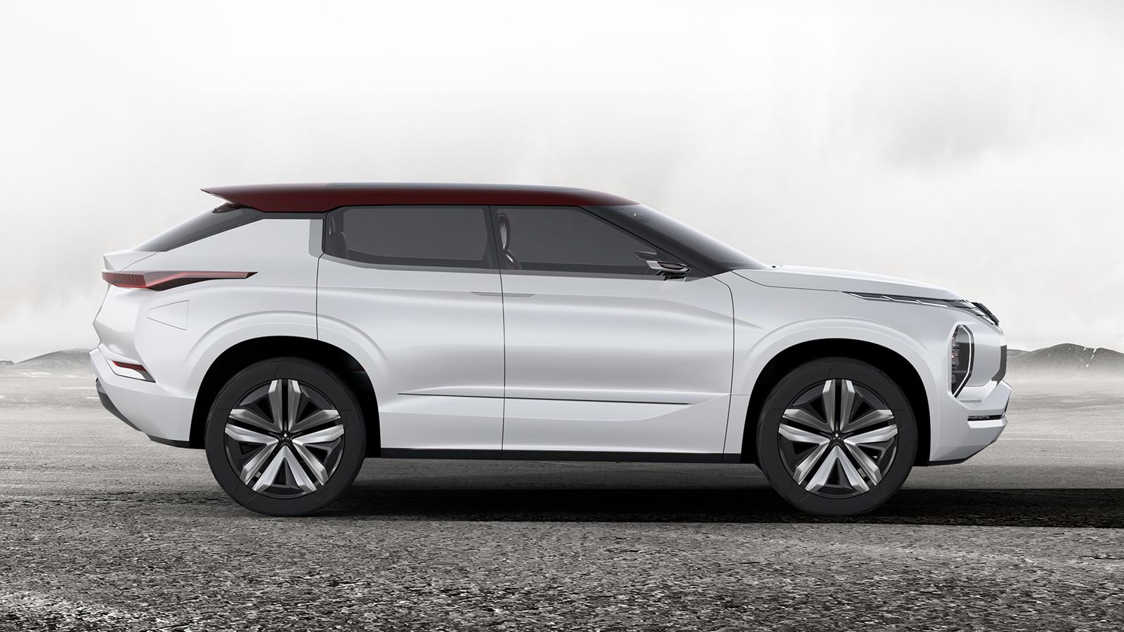 Мицубиси покажет встолице франции новый концептуальный автомобиль