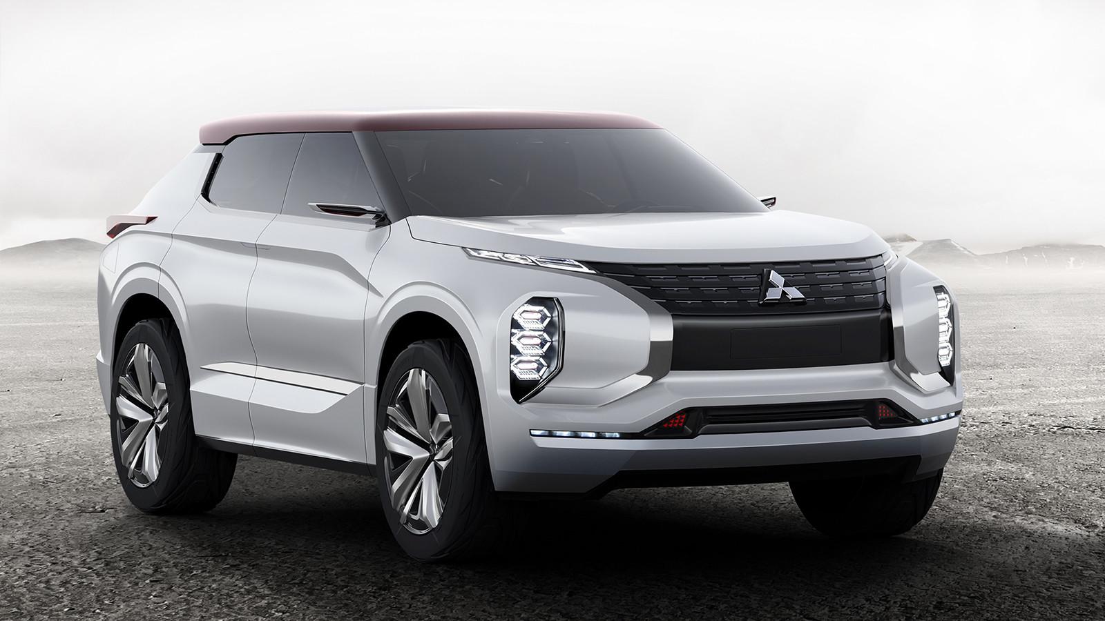 Концептуальный кроссовер Митсубиши GT-PHEV Concept рассекречен официально