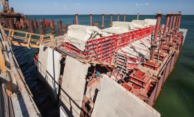 Озвучены заработной платы строителей— Керченский мост
