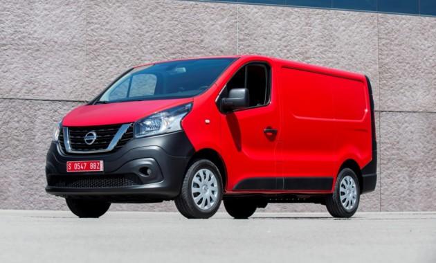 Ниссан рассекретил коммерческий фургон NV300