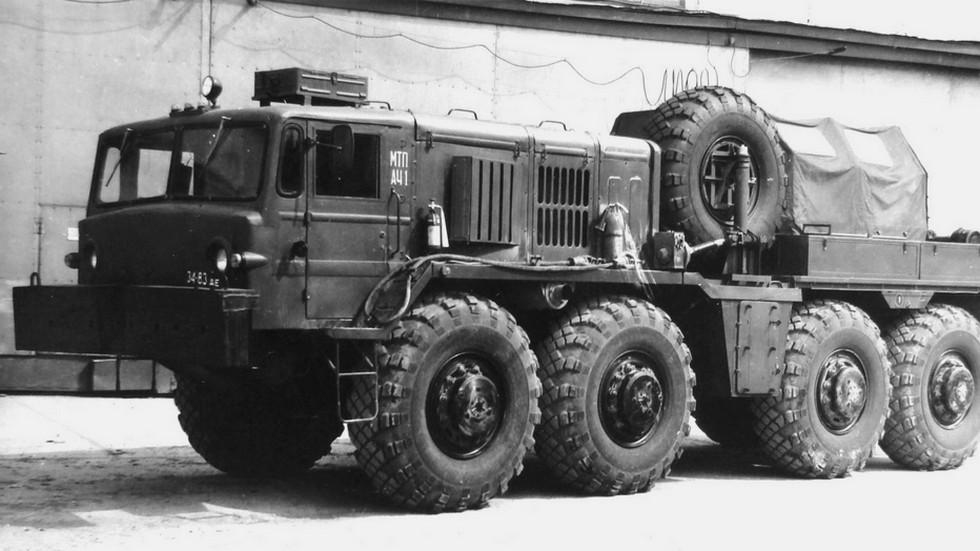 Машина технической помощи МТП-А4.1 с лебедкой и коротким кузовом. 1988 год (из архива НИИЦ АТ)