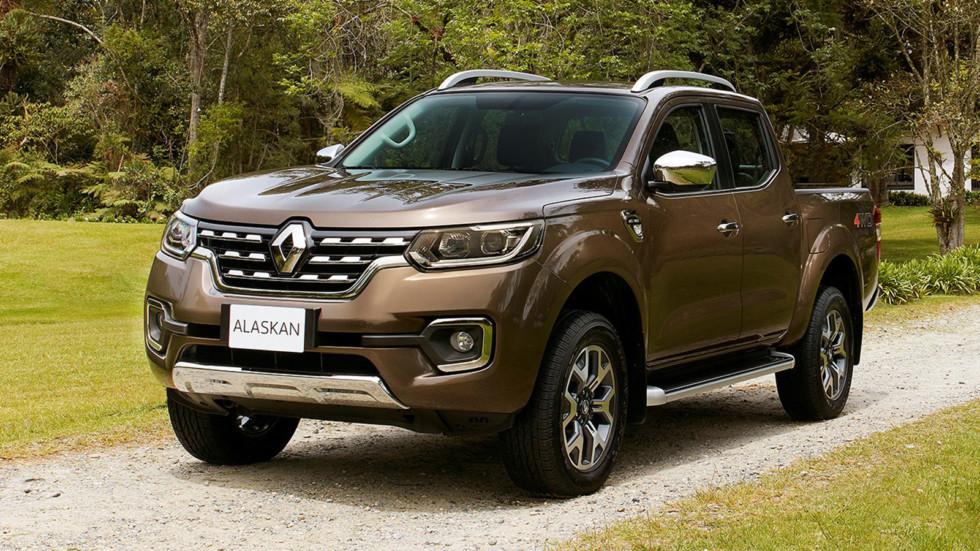 На фото: Renault Alaskan