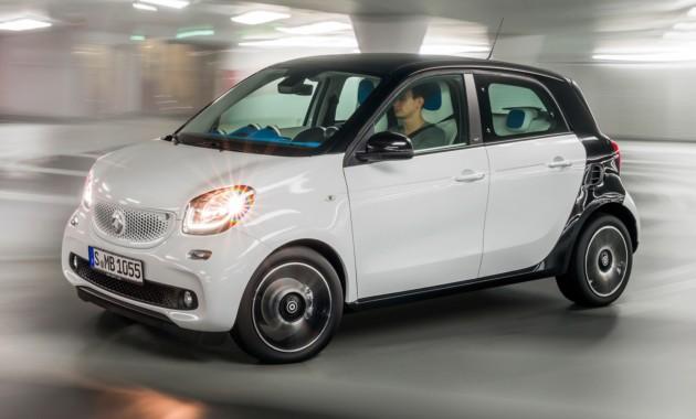 Стали известны рублевые цены нановые версии авто Смарт