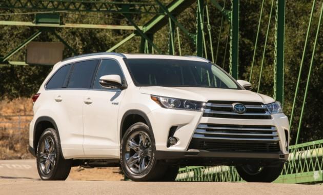 Представлен обновленный Toyota Highlander