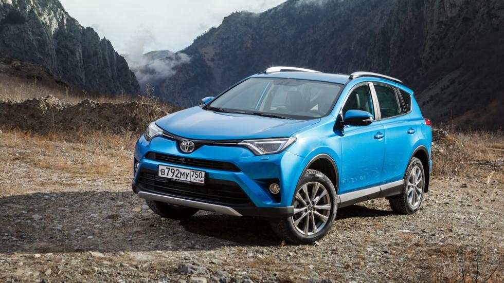 Русские продажи Тойота летом уменьшились на4,1 процента