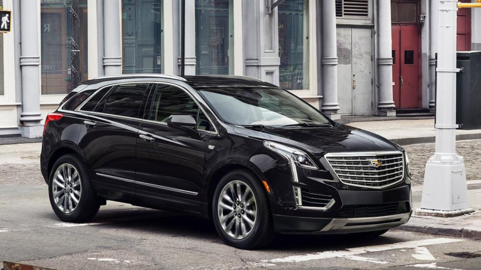 На фото: Cadillac XT5