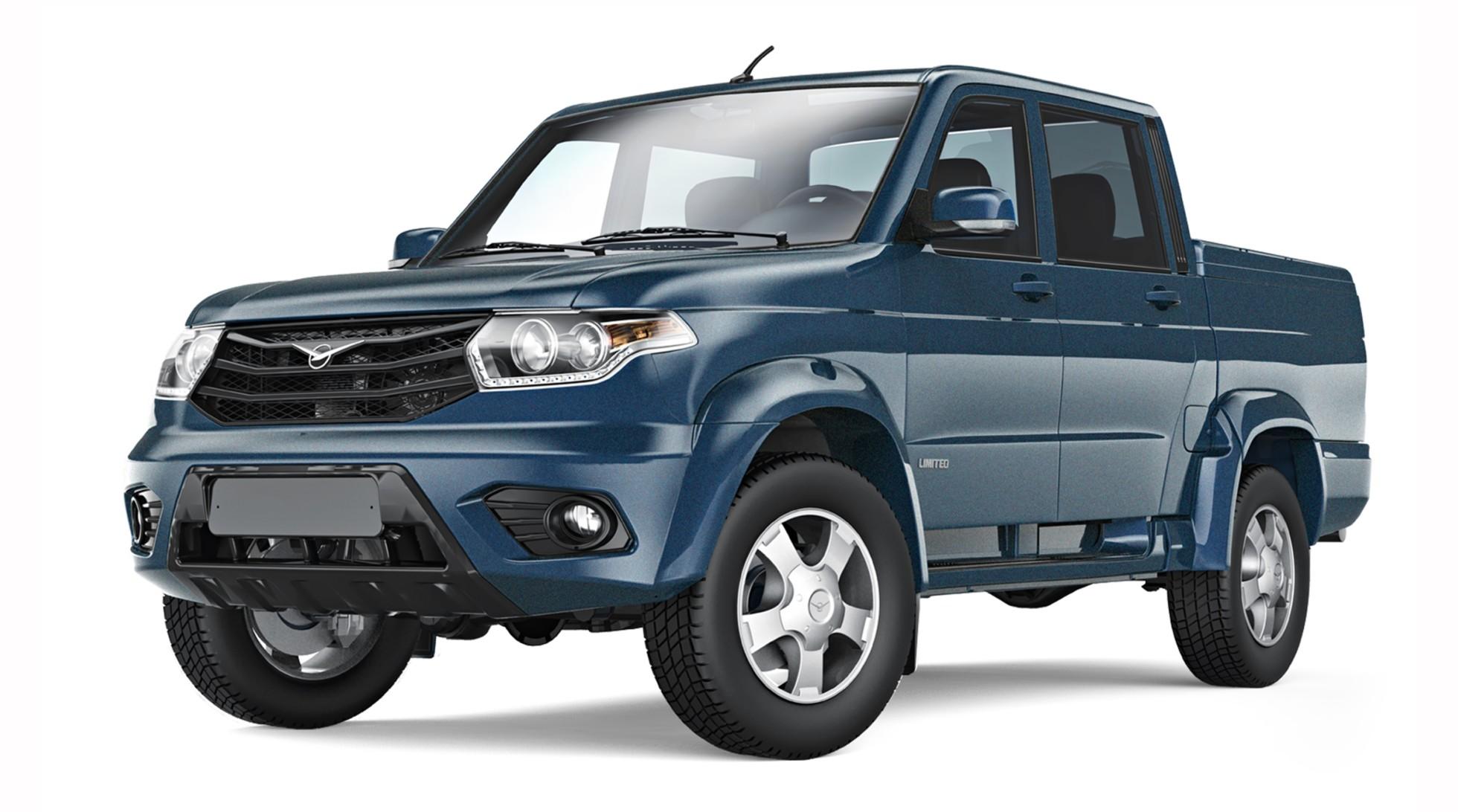 УАЗ Pickup держит лидерство на рынке автомобилей пикапов