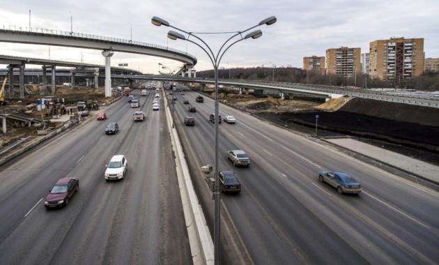 Встолице завершили основные работы попервому этапу реконструкции МКАД