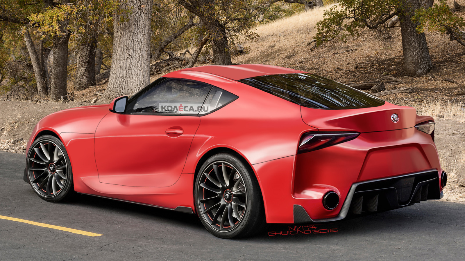 Тойота планирует сделать гибридную модификацию спорткара Supra