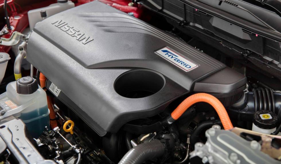 Двигатель Nissan Rogue Hybrid