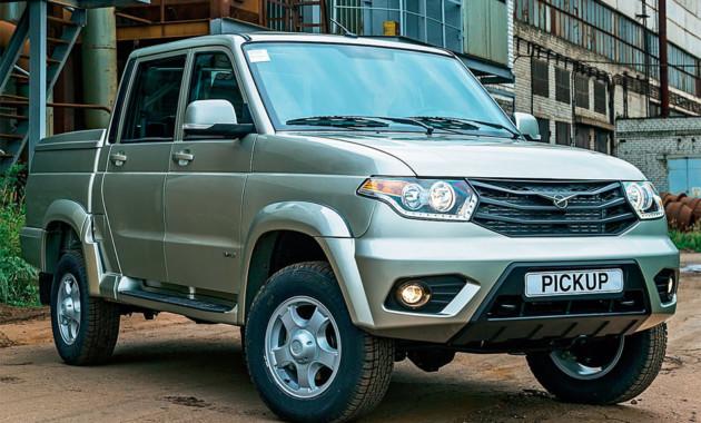 В РФ UAZ Pickup 2-ой месяц подряд становится самым продаваемым пикапом