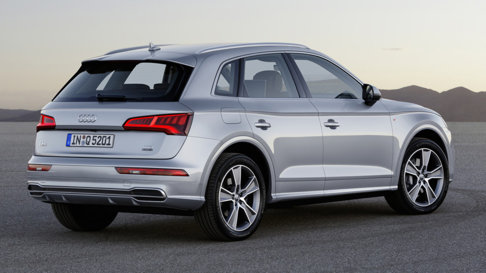 Audi Q5 Paris rear