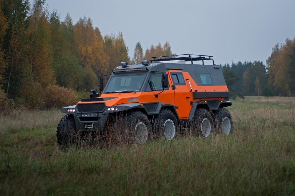 «Шаман» пройдет сквозь огонь и воду: русский вездеход покоряет бездорожье