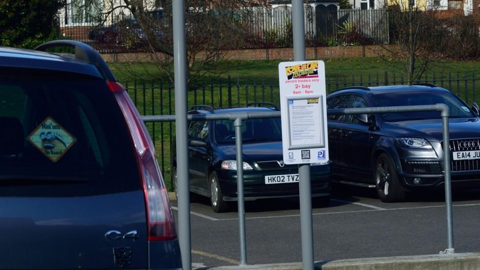 Parking partnership Sign