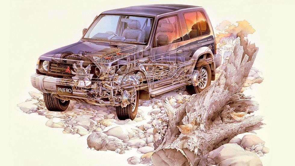 Mitsubishi Pajero Metal Top '1991–97