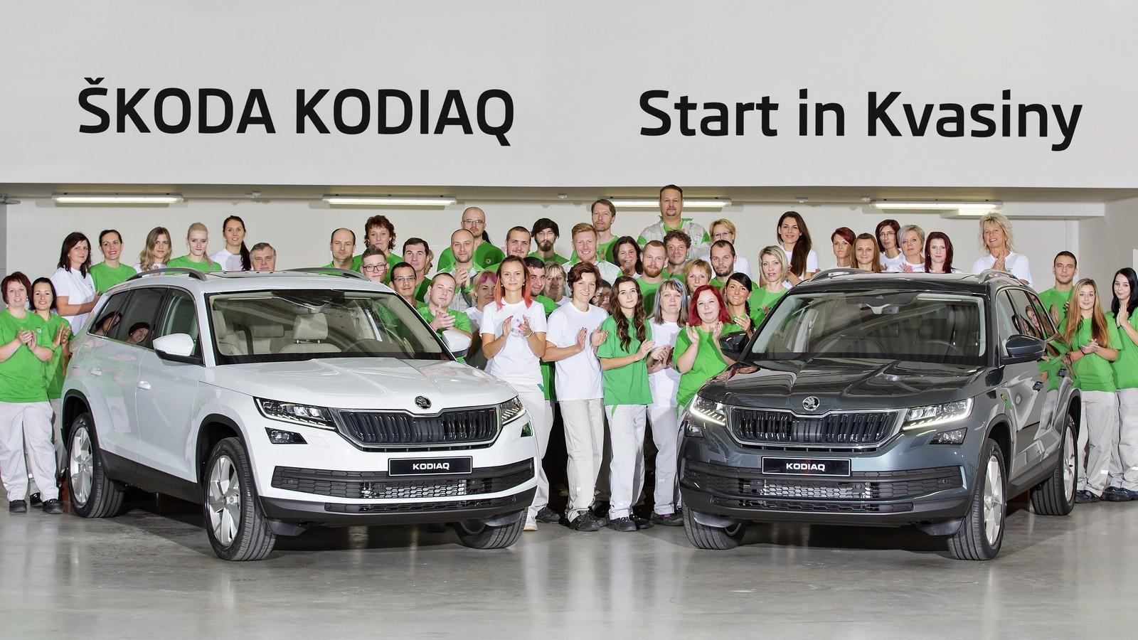 ВЧехии стартовало производство Шкода Kodiaq