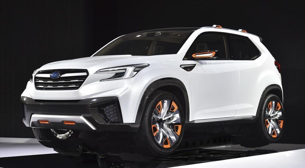 Субару представит обновленную модель на автомобильном салоне вЛос-Анджелесе