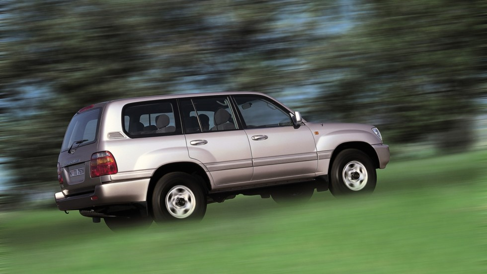 Toyota Land Cruiser 100 VX (J100-101) '1998–2002ы