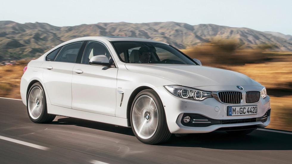 На фото: BMW 4 Series Gran Coupe