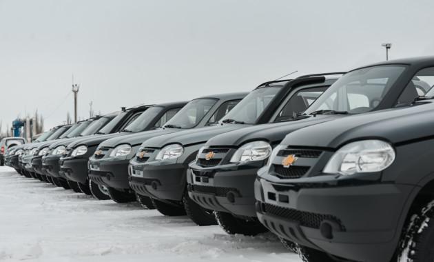 В2015 году производство джипа Шевроле Niva уменьшилось на11%