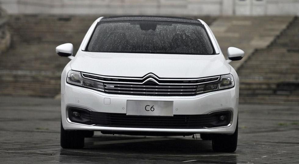 Новый седан Citroen C6 дебютирует на авторынке Китая