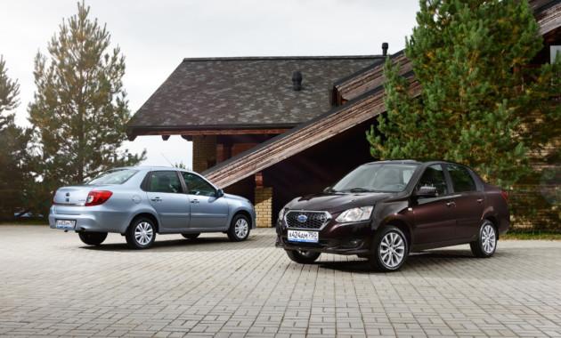 Затри квартала следующего года Datsun воплотил неменее 12 тыс. авто