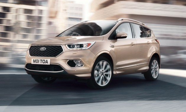 Форд принимает заказы нароскошные версии Kuga иEdge