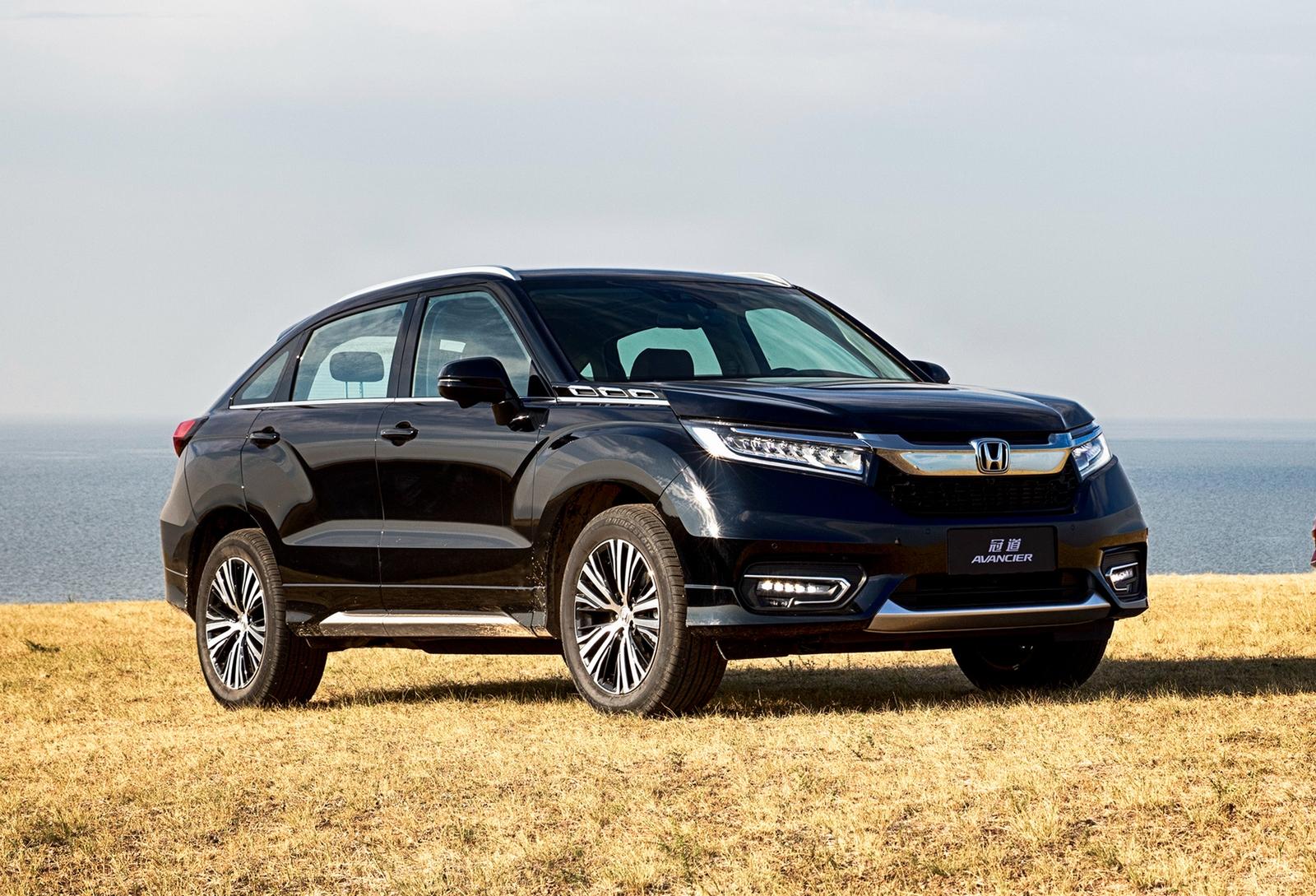 Кроссовер Honda Avancier вышел на рынок - Колеса.ру