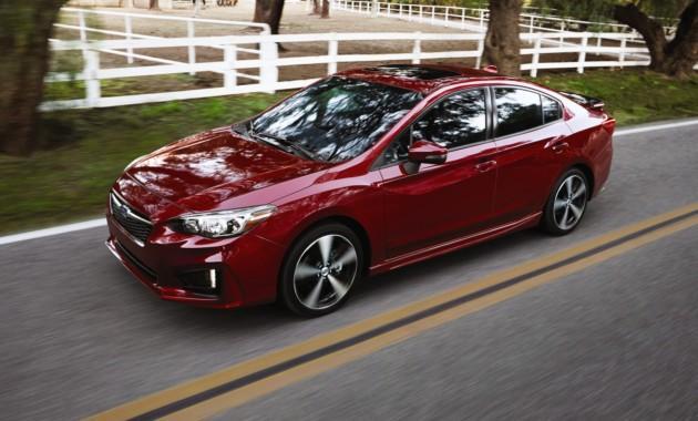 Субару выводит новейшую Impreza на рынок Соединенных Штатов
