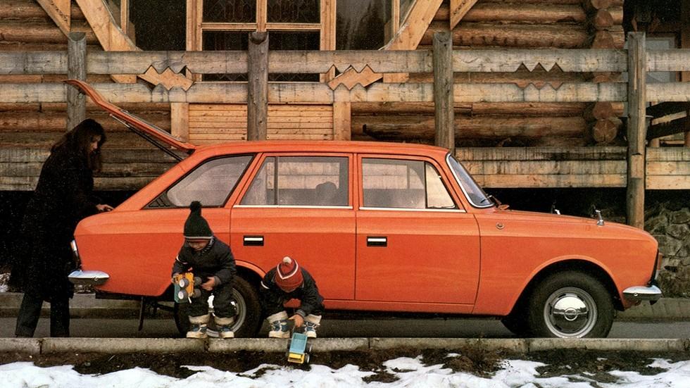 Пятидверный Иж-Комби пришелся по вкусу многим советским автомобилистам