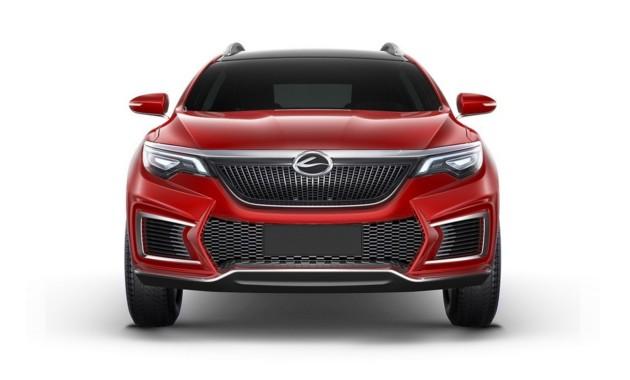 Китайский Landwind рассекретил собственный новый концептуальный автомобиль