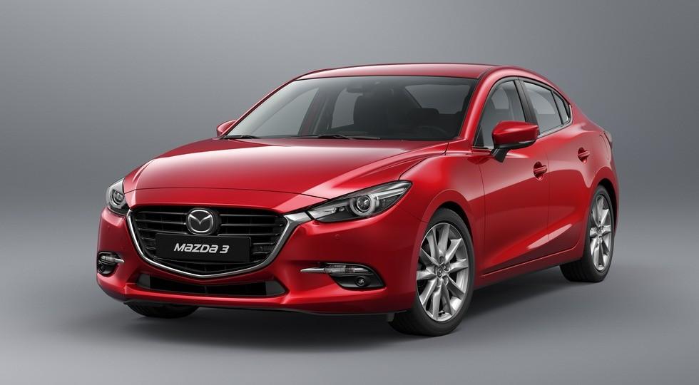 Улучшенный седан Mazda3 получил неменее доступную версию