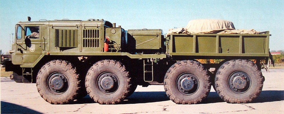 Серийный балластный вариант КЗКТ-537Л на шасси четвертого поколения