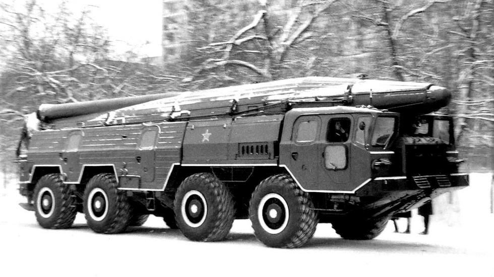 Оперативно-тактический комплекс «Темп-С» на базе МАЗ-543А (фото автора)