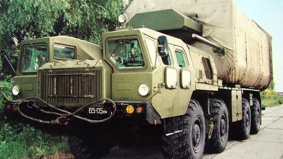 Оборудование установочной спецмашины ТУАН на шасси МАЗ-543А