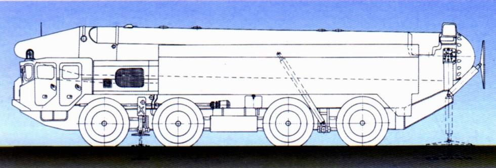 Проект компактного межконтинентального ракетного комплекса «Копьё-Р»