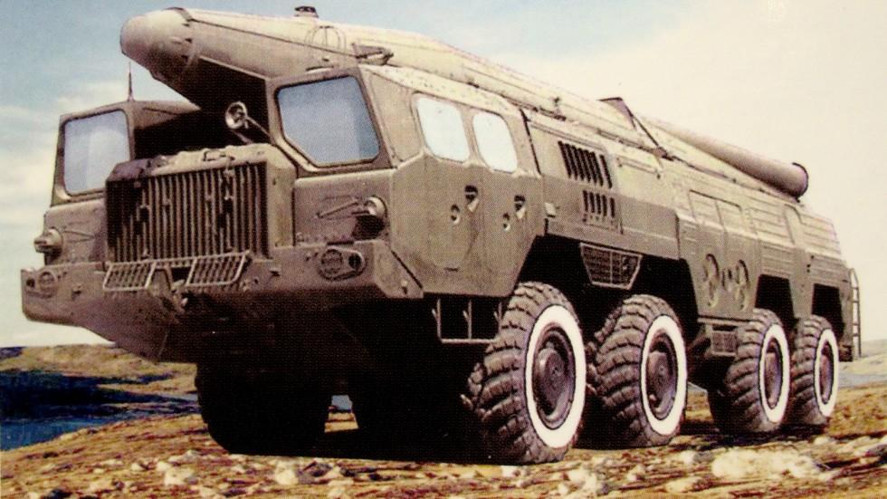 Комплекс «Темп-С» на шасси МАЗ-543А (реконструкция ЦКБ «Титан»)