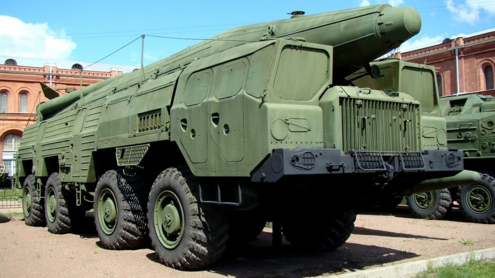 Комплекс 9К76 в экспозиции петербургского Артиллерийского музея (фото автора)