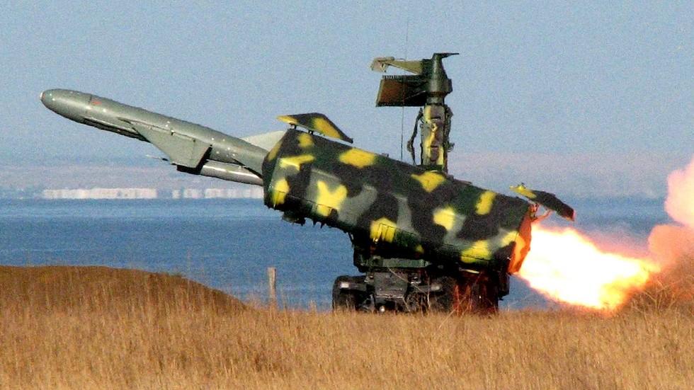 Запуск крылатой ракеты «Термит-Р» с дальностью поражения 80 км (из архива НИИЦ АТ)